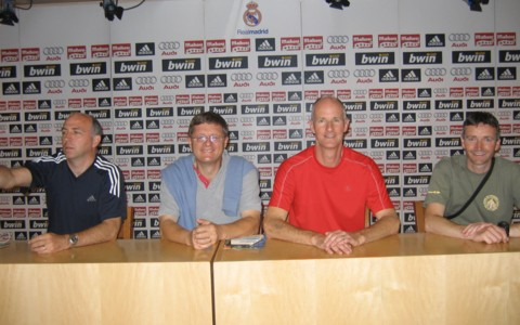 The 'press conference' at Real Madrid