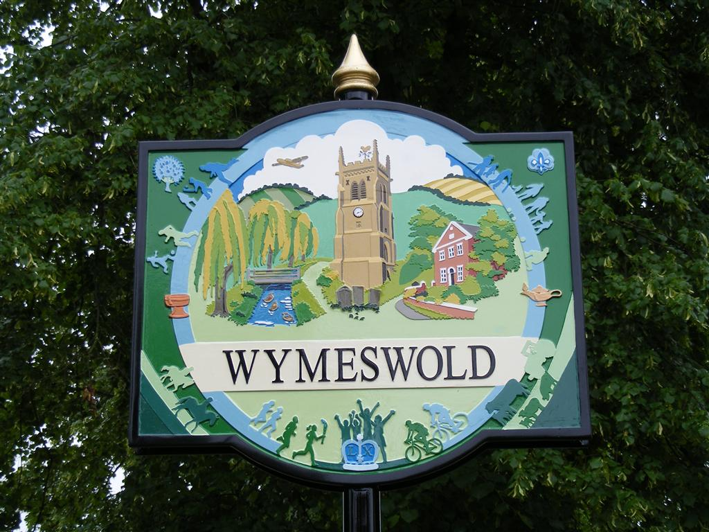 Detail of the Wymeswold village sign